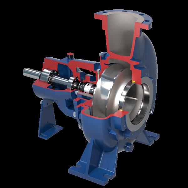 Kreiselpumpen mit mehrkanal Laufrad nach Norm ISO 2858-5199