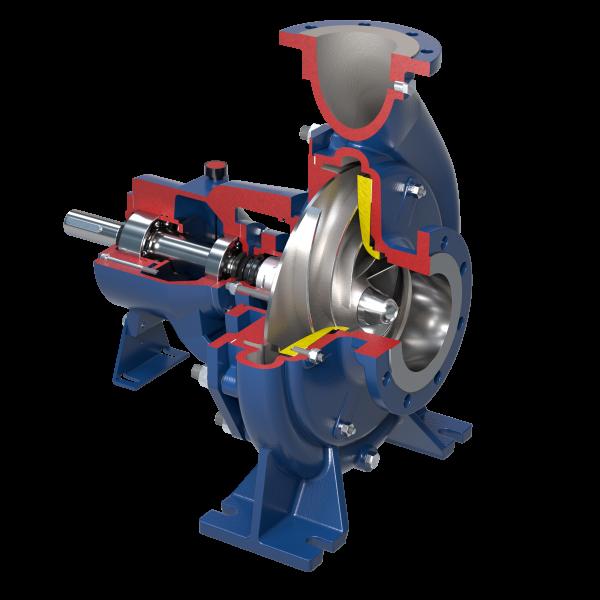 Kreiselpumpen mit offenem Laufrad nach Norm ISO 2858-5199